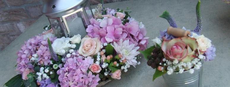 Csipke, hortenzia, romantika