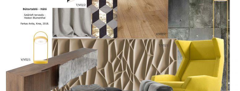 Loft interior design for Heston Blumenthal