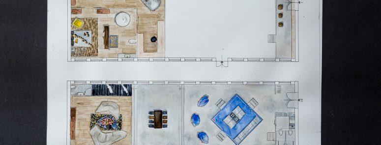 Loft enteriőr tervezés